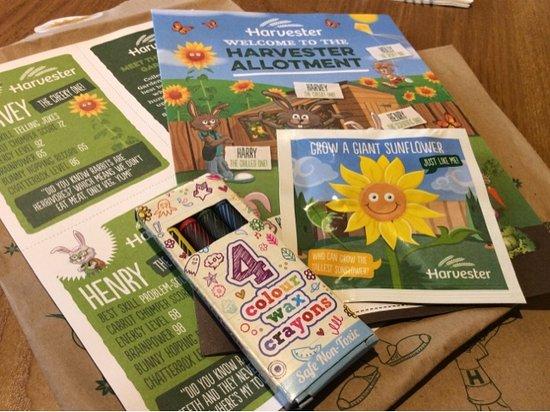 Stevenage, UK: Kids packs