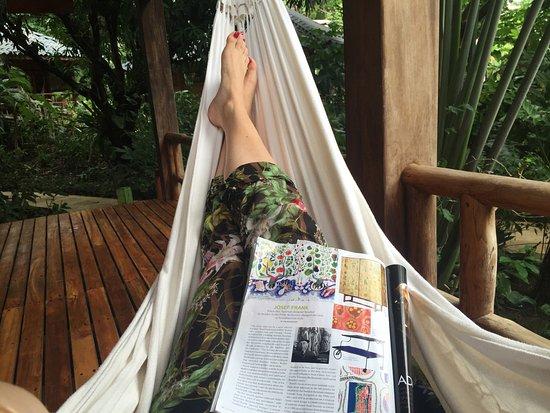Pranamar Villas and Yoga Retreat: Hammock life