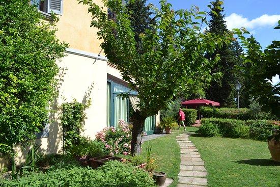 Montespertoli, Italy: Villa La Cappella - Eingang
