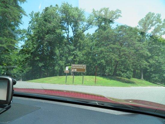 Triangle, Βιρτζίνια: Entrée dans le parc, juste à côté de l'autoroute 95