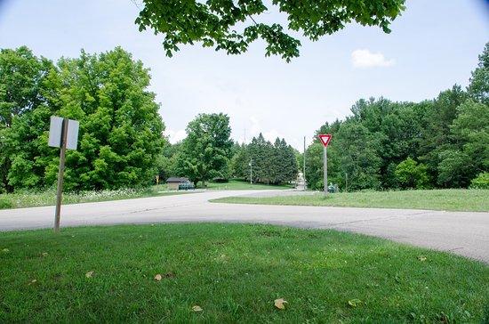 Ontario, WI: campsite