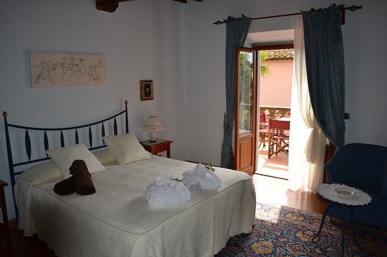 Montespertoli, Italia: Suite mit Panorama Terrasse