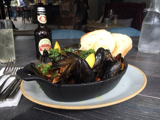 Стоу-он-Уолд, UK: These mussels are fantastic!