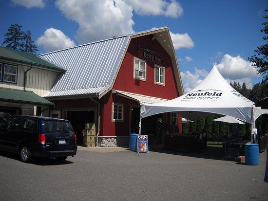 แอบบอตส์ฟอร์ด, แคนาดา: Ice cream barn