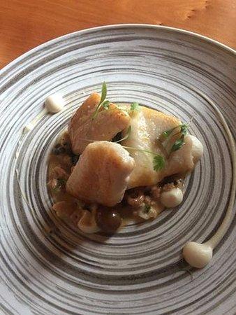 Epping, UK: A la Carte fish dish