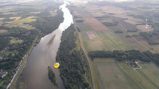 Onzain, Frankrig: Survol de la Loire