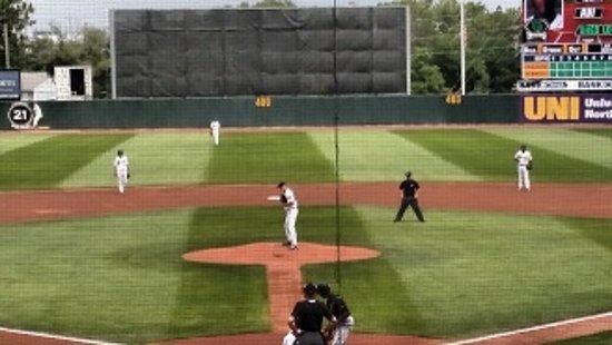 Kernels baseball - Veterans Memorial Stadium, Cedar Rapids, Iowa