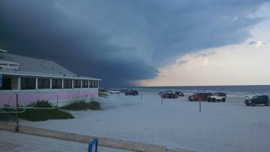 Summer Storm Nsb Picture Of The Breakers Restaurant