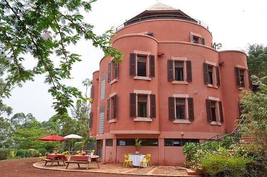 Bangangte, Καμερούν: terrasse