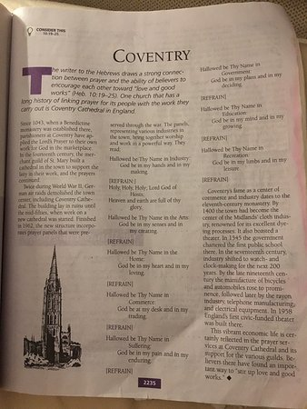 Coventry, UK: The Word in Life Study Bible