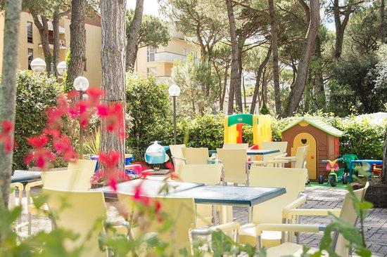 Hotel Capri : giardino