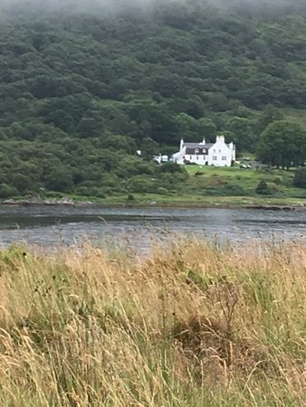 Sleat, UK: From the other side of the loch