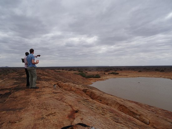 Tsavo National Park East, เคนยา: Mudandu Rock