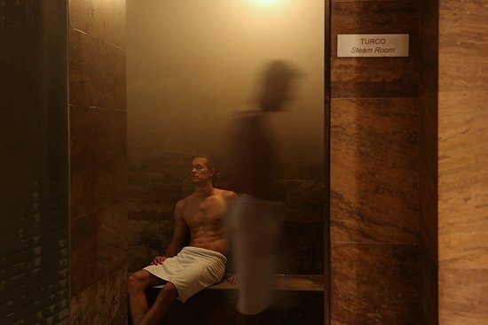 Image result for steam bath men
