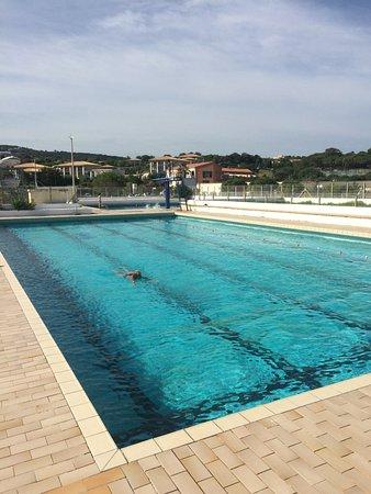 Lumio, فرنسا: piscine gratuite de San Ambroggio (pas loin de la résidence Arinella)