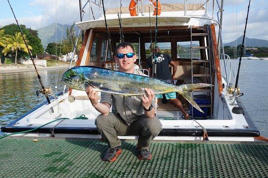 Hooker Deep Sea Fishing: Dorado caught on Hooker V