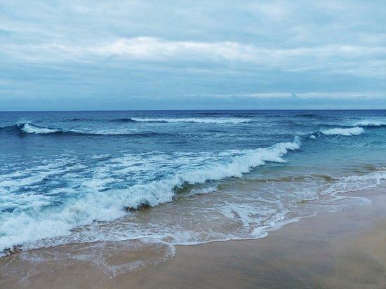 Praia de Santa Maria: vlnky pokaždé jinak