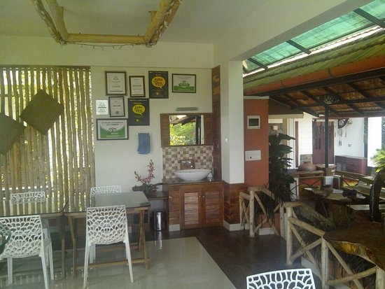 At olives homestay dining area