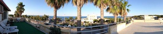 Sant'Andrea, Włochy: Foto panoramica dal terrazzo panoramico.