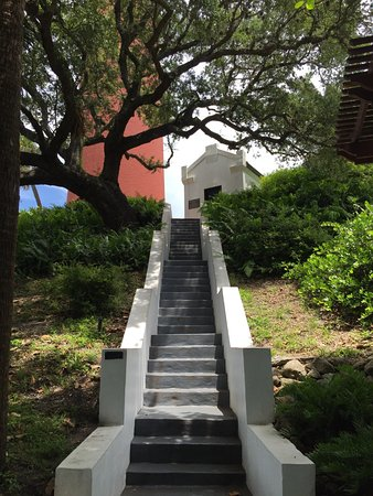 Jupiter, FL: Steps up to the lighthouse