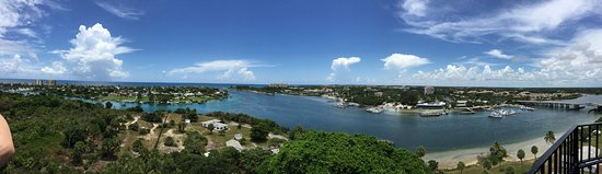 Jupiter, FL: View from the top