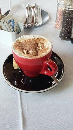 Pietermaritzburg, Sydafrika: Yummy cappucino