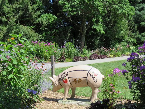 Orrtanna, PA: A bit of the garden at the Adams County winery
