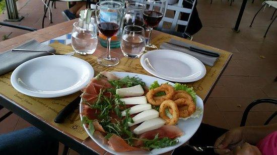 Castelfiorentino, إيطاليا: antipasto