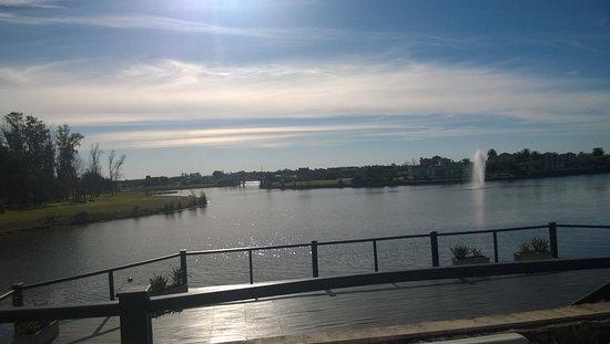 Campana, Argentina: vista desde la terraza