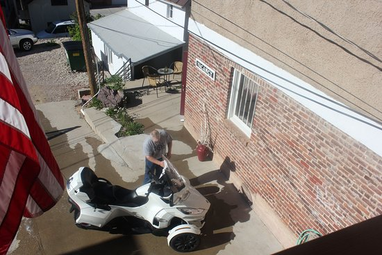 Lead, Dakota del Sud: Trike washing area