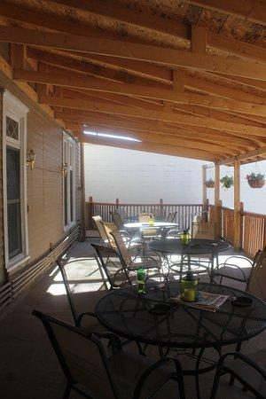 Lead, Dakota del Sud: Covered deck