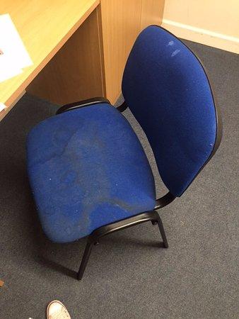 University Of Chichester Bed & Breakfast: Bedroom chair