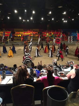 Medieval Times : All the knights
