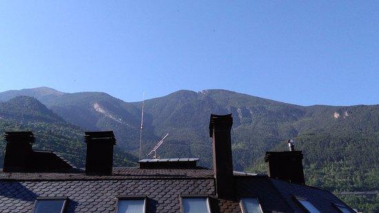 Holiday Inn Andorra: Amanecer en Andorra