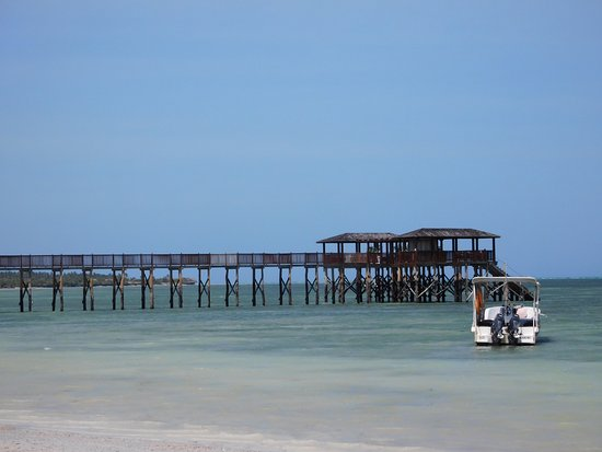 The Residence Zanzibar: This jetty has lovely day beds and a bar. You can watch the sun go down or go for a swim from it