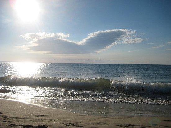 Kristel Park: Пляж в 7:00 утра.