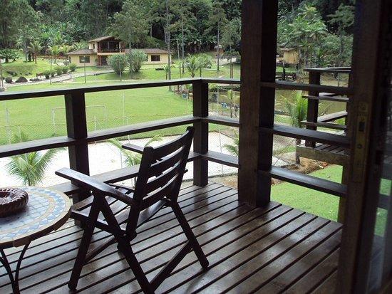 Pousada das Cachoeiras: Vista do Chalé