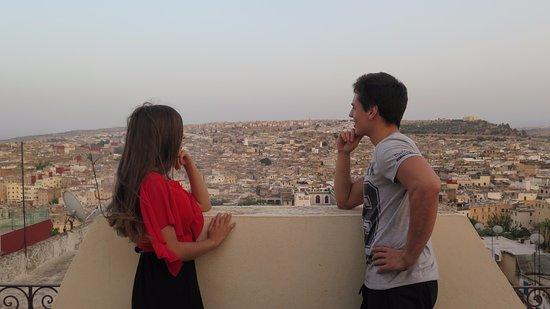Riad Dar Tafilalet: Vistas desde la terraza.