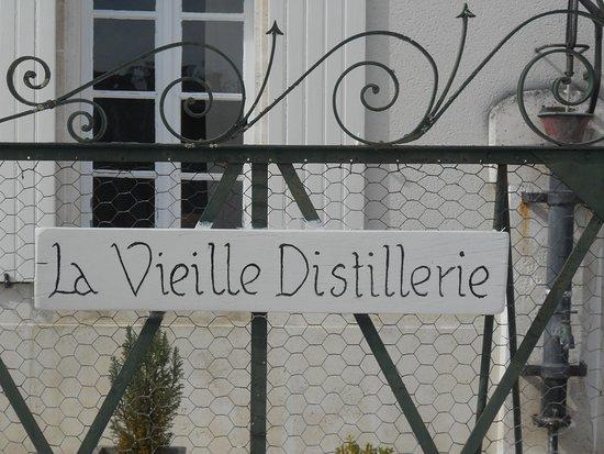 Le Tatre, Frankreich: Signage