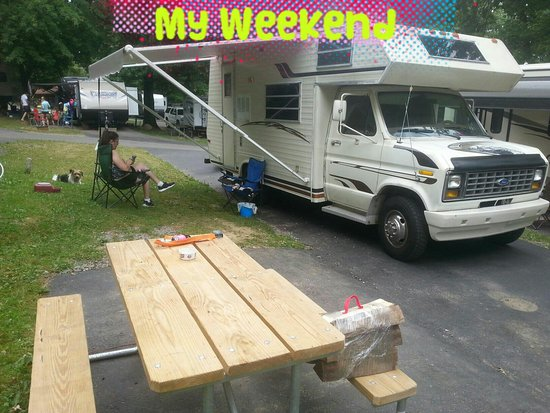 Portersville, Pennsylvanie : Bear run campground pics.  This place is exceptional. Highly recommended!