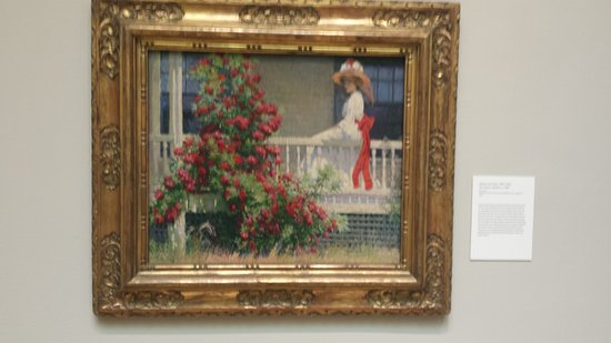 Old Lyme, CT: The current exhibit:The Artist's GardenAmerican Impressionism and the Garden Movement, 1887–1920