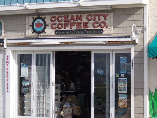 Ocean City Coffee Co: On the boardwalk in (of course) Ocean City, New Jersey