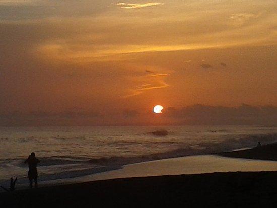 Playa Hermosa, Kosta Rika: Sunset