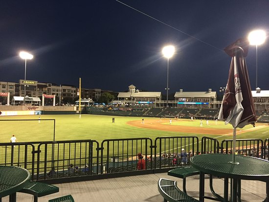 Frisco, TX: Ballpark after dark