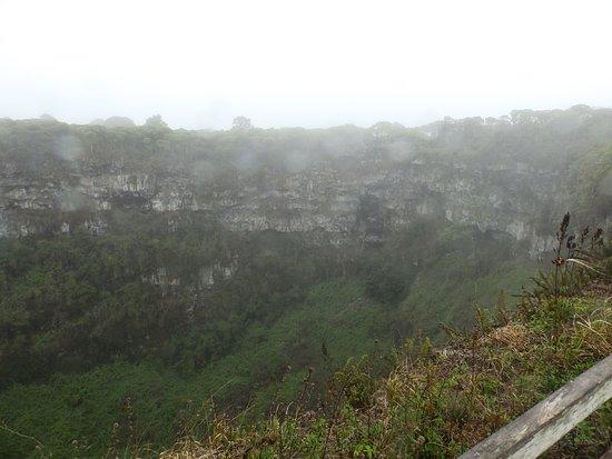 سانتا كروز, الإكوادور: Los Gemelos con garúa