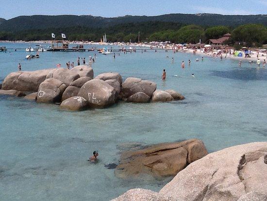 Palombaggia  Beach : Tamaricciu beach