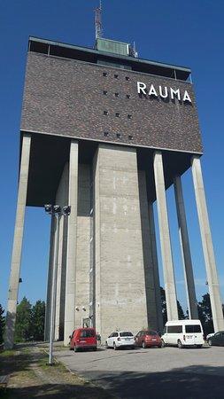 Rauman vesitorni ulkoa - Picture of Sky Lounge Torni, Rauma ...
