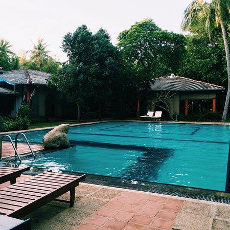 Ging Oya Lodge: Prachtige locatie