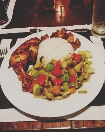 Ging Oya Lodge: Chicken Tandoori van Leo