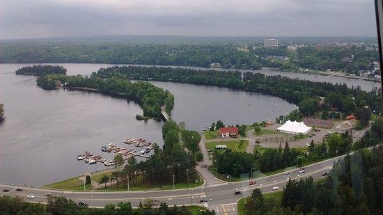Shawinigan, Canadá: Vue de la tour